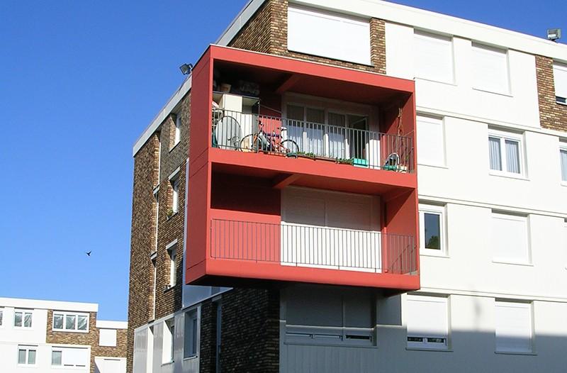 Habitat Drouais résidence HLM